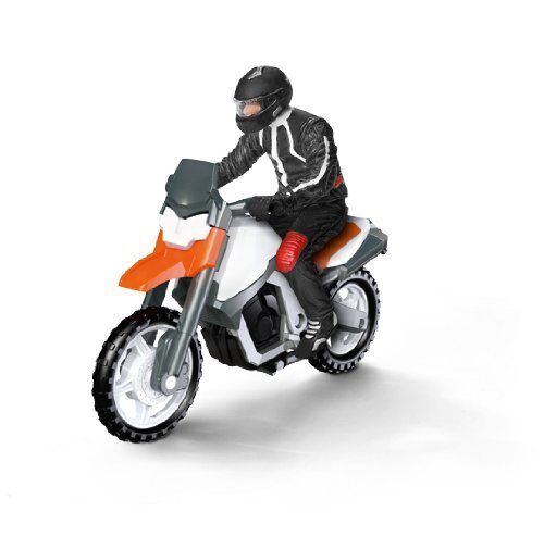 MOTORCYCLE WITH RIDER by Schleich/ 42092/ RETIRED