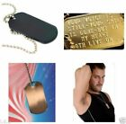 Brass Dog Tag Chains & Necklaces for Men
