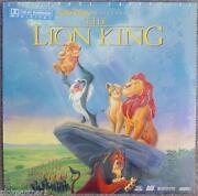 Lion King Laserdisc