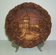 German Wood Plate