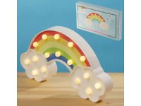 LED light decoration- rainbow and clouds