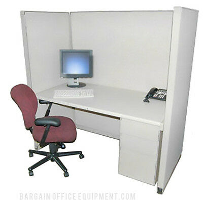 30x60 X 67 H Herman Miller Medium Wall Center Cubicle With Fabric Paint Choice