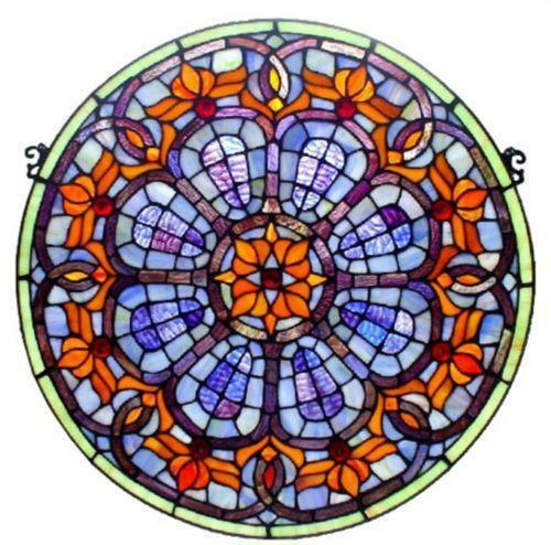Arched Stained Glass Windows For Sale