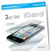 iPhone 4 Schutzfolie Igard