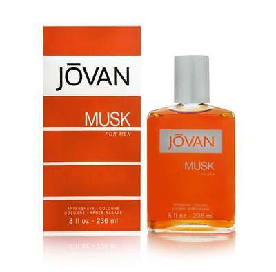 *NEW* Jovan Musk Cologne for Men by Coty 8.0 oz After Shave Cologne Pour NIB Musk Men Cologne
