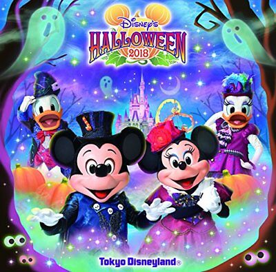 [CD] Tokio Disneyland Disney Halloween 2018 Neu aus Japan