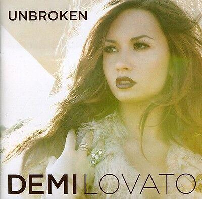 Demi Lovato   Unbroken  New Cd  Uk   Import