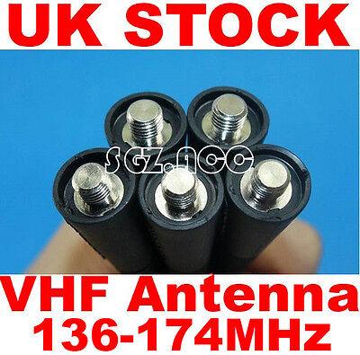 UK 5x VHF Antenna Motorola Radio GP3688,GP140,GP280,GP300,GP320,GP330,GP340 New