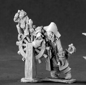 Reaper Miniatures Drunken Pirate #03445 Dark Heaven Legends Unpainted Metal