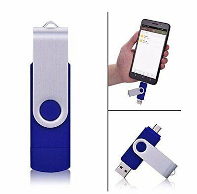USB 2TB MEMORY CARD OTG Flash Drive Stick BLUE - ( NOT 1TB OR 512GB 256GB )