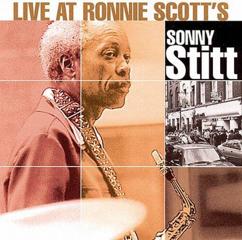 #642 SEALED Uncut Audiophile DCC CD SONNY STITT Live at Ronnie Scott's
