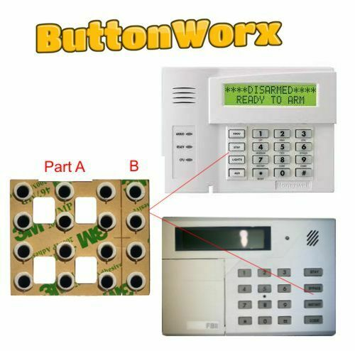 Honeywell Ademco Alarm Keypad Button Repair Membrane 6128, 6150, 6160, etc...