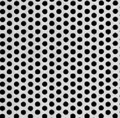 Perforated Steel Sheet 14 Perfs 38 Staggered Centers - 16g X 12 X 48