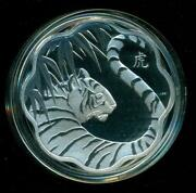 Year of The Tiger Silver