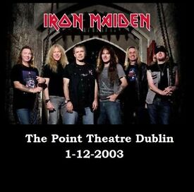 Iron maiden live at the point theatre Dublin 2003