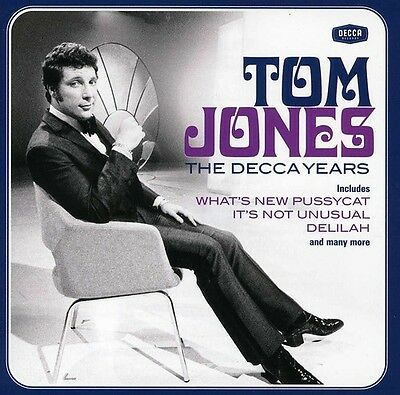 Tom Jones   Decca Years  New Cd