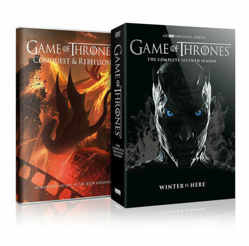 Game of Thrones: Season 7 The Complete Seventh Series (DVD, 2017)  NEW