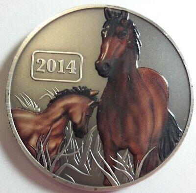 2014 TOKELAU 1oz SILVER $5 DOLLARS