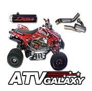 TRX450R Dasa Exhaust