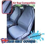 Grey Front Car Seat Covers