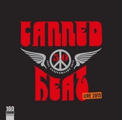 50th Anniversary Live 2015 - Canned Heat (2015, Vinyl NEU)