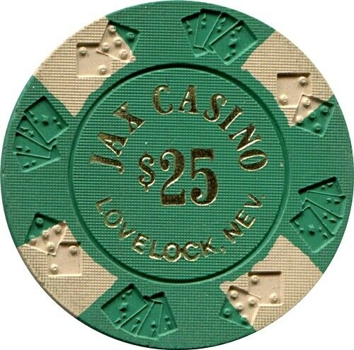 Jax Casino, Lovelock $25, Casino Chip MINT
