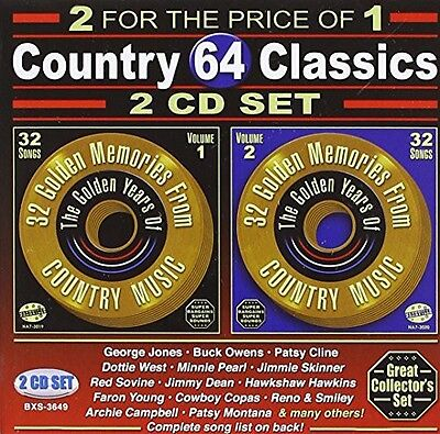 Various Artists - 64 Songs: Country Classics / Various [New CD]