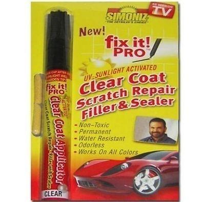 Fix It Pro Clear Car Coat Scratch Cover Remove Repair Painting Pen for Simoniz X
