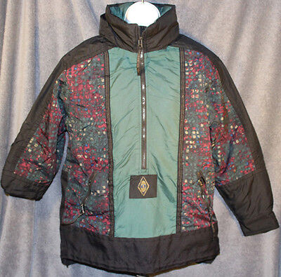Junior Girls Ski Jacket - Girls OBERMEYER Black Green Floral NO GRAVITY SKI WINTER JACKET Juniors Size XL