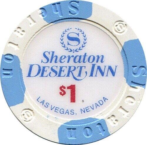 Sheraton Desert Inn, Las Vegas $1 Casino Chip MINT