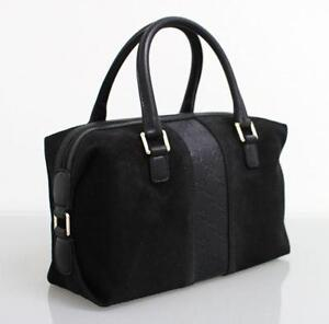 60e7a558ef4 Gucci Black Boston Bag