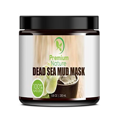 Dead Sea Mud Mask for Face and Body - 8.8 oz Melts Cellulite