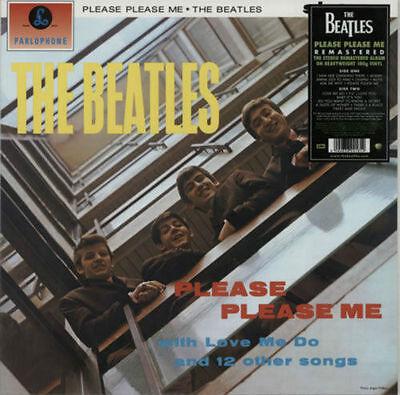 THE BEATLES 'PLEASE PLEASE ME' LP REISSUE 180G VINYL - BRAND NEW + SEALED