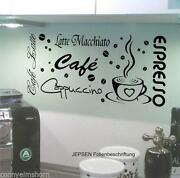 Wandtattoo Cappuccino