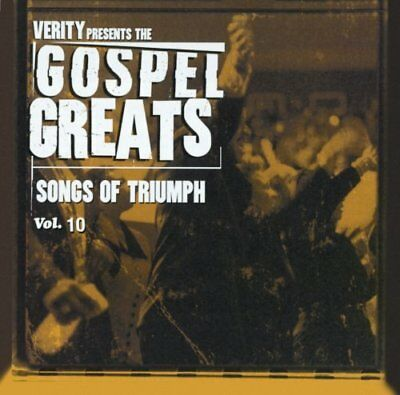 Gospel Greats Vol. 10-Songs of Triumph | CD | Commissioned, Yolanda Adams, Va...