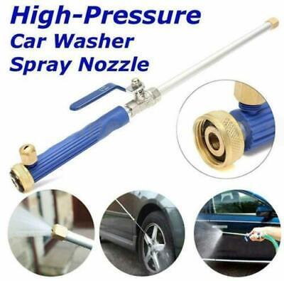 Car High Pressure Power Washer Spray Water Gun With Nozzle Hose Tips Garden