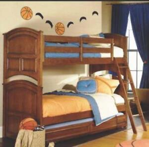 BUNK BED - Deer Run By Lea Furniture Full Size - Solid Wood