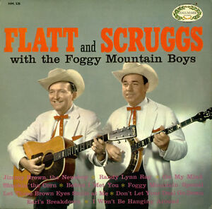 Bluegrass music on vinyl