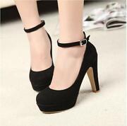 Ankle Strap Heel Platform