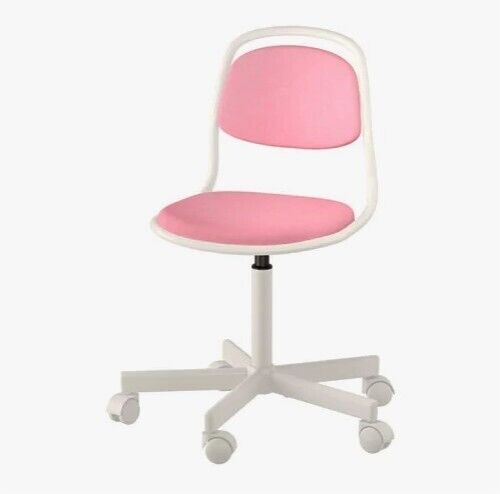 Pleasing Ikea Orfjall Kids Adjustable Desk Office Chair In Pink And White In Horbury West Yorkshire Gumtree Ibusinesslaw Wood Chair Design Ideas Ibusinesslaworg