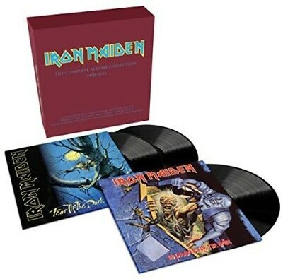 Iron Maiden   Collectors Box  No Prayer For The Dying   Fear Of The Dark  New Vi