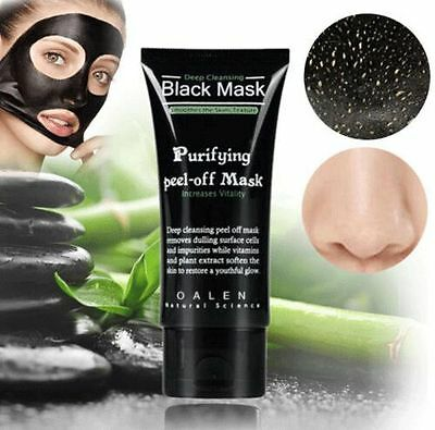 Shills Blackhead Remover Deep Cleansing Purifying Peel Off Black Mud Face Mask