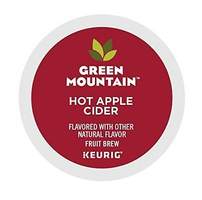 Green Mountain Naturals Hot Apple Cider 72 k cups read description
