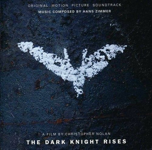 THE DARK KNIGHT RISES Soundtrack CD BRAND NEW Music By Hans Zimmer