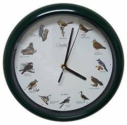 Comfort HomeTM Original Singing Bird 10 Clock Home Kitchen Decor Wooden Antique