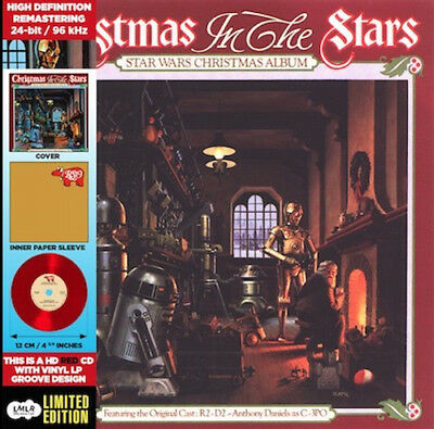 Meco   Star Wars Christmas Album  Amazon   New Cd  Ltd Ed  Red  Rmst  Mini Lp Sl