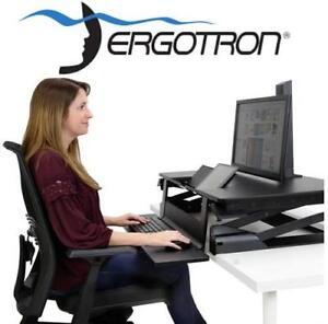 NEW* ERGOTRON SIT-STAND WORKSTATION 33-444-921 188713215 Desktop Workstation