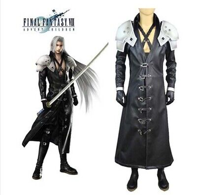 Final Fantasy ff VII 7 Sephiroth Cosplay Costume Halloween Party Show Event Coat](Finale Halloween Party)