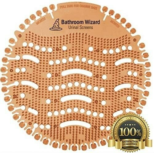 Urinal Screens Deodorizer (10-Pack) – Urinal Cakes/Mats – Citrus Orange