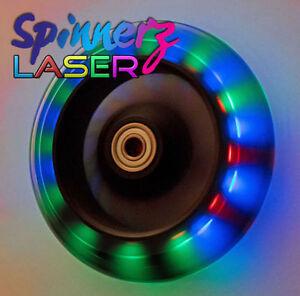 FLASHING LED Light-Up Wheelchair Castors 120mm (5